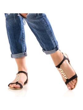 Sandale Dama FrontGold Negrudep-2