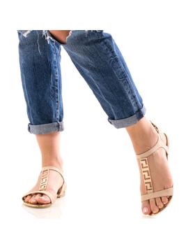 Sandale Dama FrontGold Bej-2