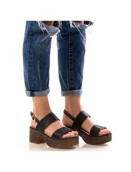Sandale Dama UppyNew Negru
