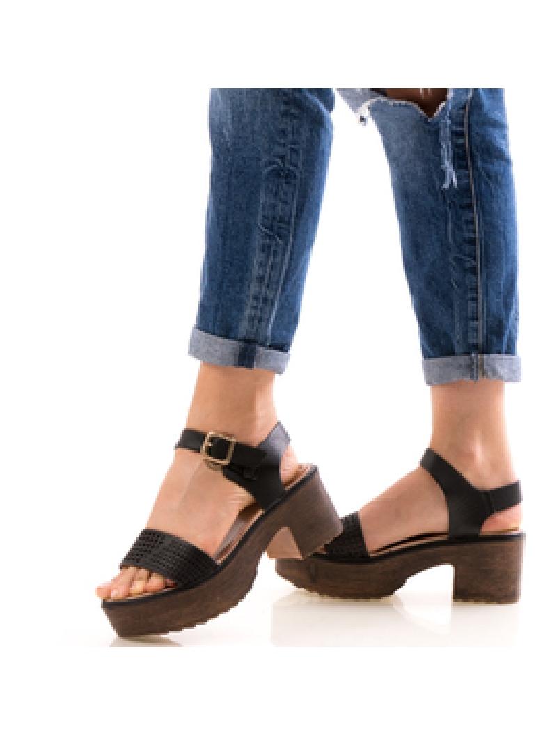 Sandale Dama UppyNeww Negru-2