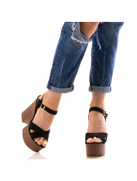 Sandale Dama Blacky Negru-2