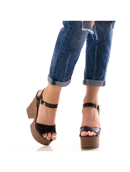 Sandale Dama BlackyOne Negru-2