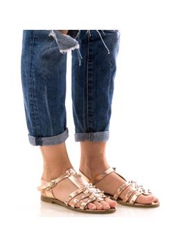 Sandale Dama CristalFront Roz Dep