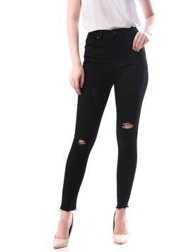 Jeans Dama Jgh156 Negru