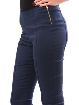 Pantalon Dama CasualFit Bleumarin Deschis-2