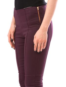 Pantalon Dama CasualFit Mov Inchis-2