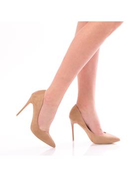 Pantofi Dama PerfectNude Crem-2
