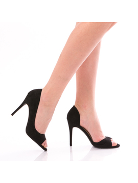 Pantofi Dama CinderellaGirl Negru-2