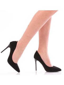 Pantofi Dama WhitePearl Negru-2