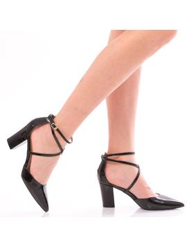 Pantofi Dama FashionVictim Negru-2
