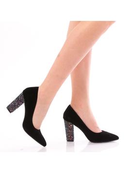 Pantofi Dama MermaidMood Negru Si Albastru-2