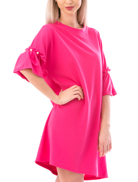 Rochie Dama ColorfullPearl Ciclam-2