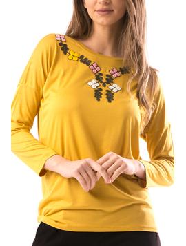 Bluza Dama IzyBabe Mustar-2