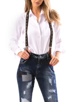 Jeans Dama CrazyBly Bleumarin-2