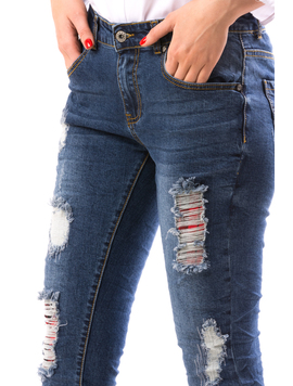 Jeans Dama AltShift Bleumarin-2