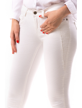 Jeans Dama CtrlGru Alb-2