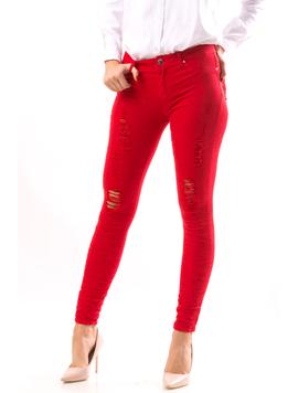 Jeans Dama TrickyPosy Rosu