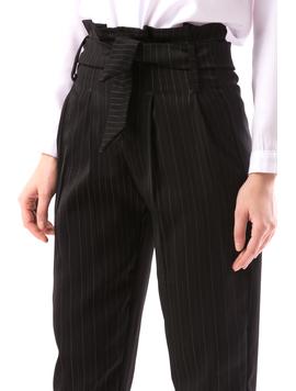 Pantaloni Dama OfRaw Negru-2