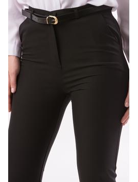 Pantaloni Dama OfficeLady Negru-2