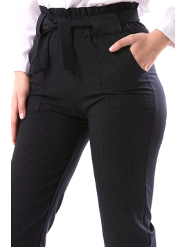 Pantaloni Dama InnaOffice Bleumarin-2