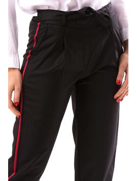 Pantaloni Dama Nonfresh Negru-2