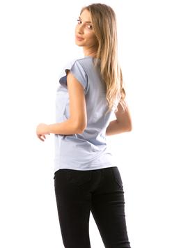 Tricou Dama FloVy Bleu-2