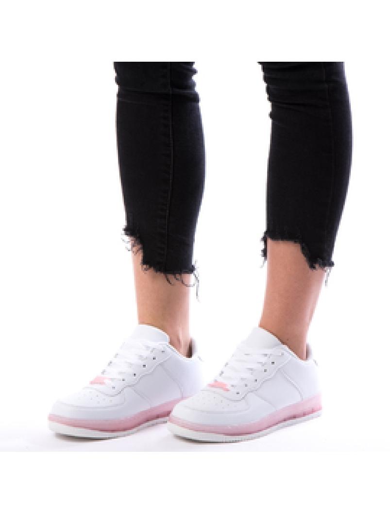 Adidasi Dama SpringRun10 Alb Dep-2