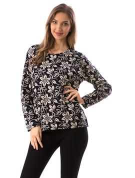 Bluza Dama CarryFlower19 Bleumarin
