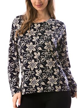 Bluza Dama CarryFlower19 Bleumarin-2