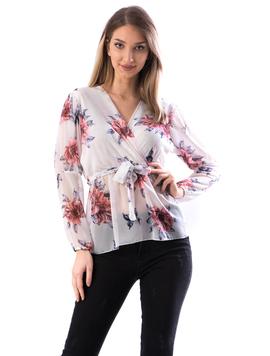 Bluza Dama MidJk122 Alb