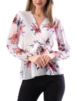 Bluza Dama MidJk122 Alb-2