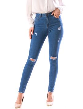 Jeans Dama Xrb100 Bleumarin