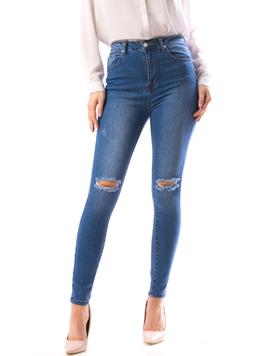 Jeans Dama Xrb101 Bleumarin