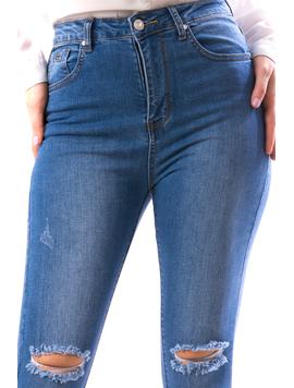 Jeans Dama Xrb101 Bleumarin-2