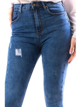 Jeans Dama Xrb104 Bleumarin-2
