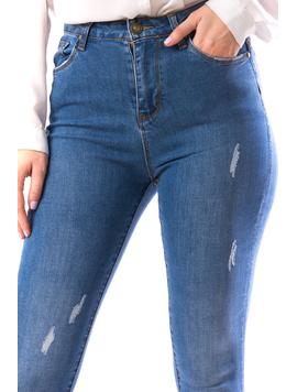 Jeans Dama Xrb105 Bleumarin-2