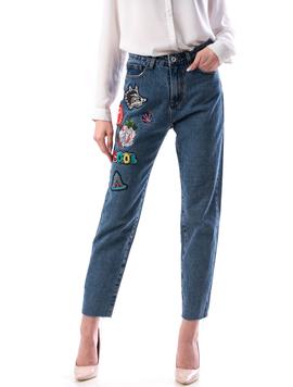 Jeans Dama Wolfy766 Bleumarin