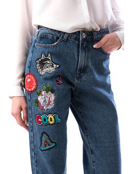 Jeans Dama Wolfy766 Bleumarin-2