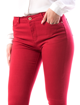 Jeans Dama Crz179 Rosu-2