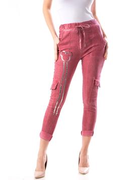 Pantaloni Dama LeftLy122 Grena