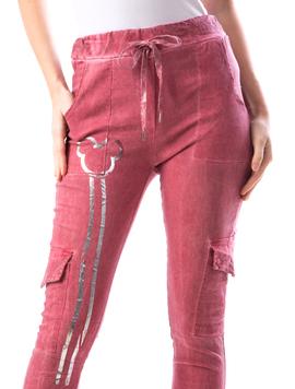Pantaloni Dama LeftLy122 Grena-2