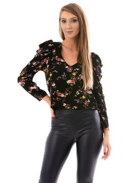 Bluza Dama PrettyVeil Negru