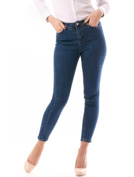 Jeans Dama Bloom Albastru