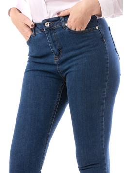 Jeans Dama Bloom Albastru-2