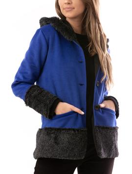 Jacheta Dama FineLine Albastru-2