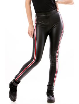 Pantalon Dama EcoLeather Negru
