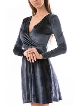 Rochie Dama Sally Gri-2