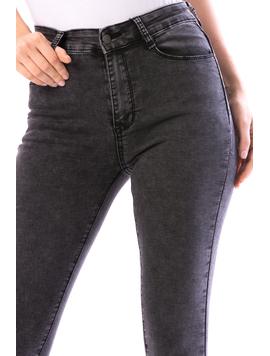 Jeans Dama Dacyty13 Negru-2