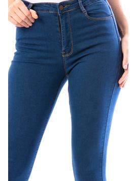 Jeans Dama Metry18 Albastru-2