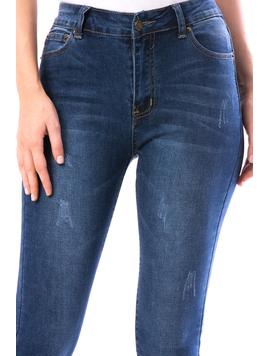 Jeans Dama Gyntyut12 Albastru-2